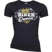 LADIES SHIRT BIKER QUEEN