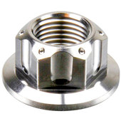 Stainless steel axle nut metric