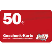 Carte-cadeau de 50 euros