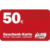 50,- Euro Geschenkkarte