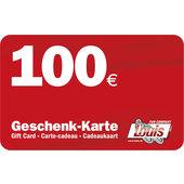 100,- Euro Geschenkkarte