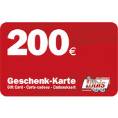 Carte-cadeau de 200 euros