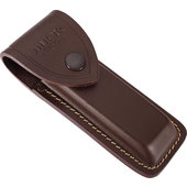 Buck Folding Hunter 110 étui en cuir