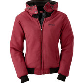 BÜSE HOODY SPIRIT DAMEN BORDEAUX