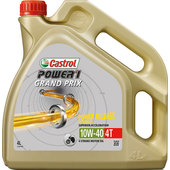 Castrol Grand Prix Motorenöl SAE 10W-40 Louis Edition, HC-Synthese, 4 Liter