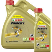 CASTROL MOTOR OIL 10W-40 POWER1 4T, HC-SYNTHETIC