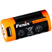 FENIX LI-ION USB AKKU TYP 16340 3,6 V/700UP MAH