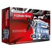 FRANZIS 4-cyl. engine learning pack