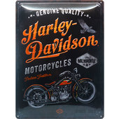 Retro Metal Sign Harley Davidson