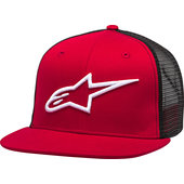 Corp Trucker Cap Red/Black