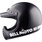 Moto-3 Gloss Black Classic