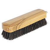 Clothes brush Wood body, brown varnished