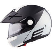 Schuberth E1 Cut Grey Enduro Helm