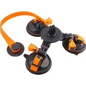 RockSet triple suction cup system