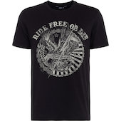 King Kerosin T-Shirt Ride Free Schwarz
