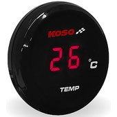Koso coin-thermometer