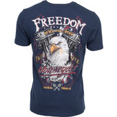 LETHAL THREAT T-SHIRT EAGLE MOTORCYCLE
