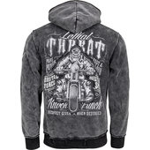 LETHAL THREAT ZIP-HOODIE RIDING GORILLA