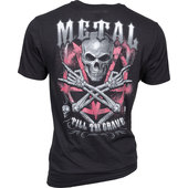 LETHAL THREAT T-SHIRT METAL GRAVE