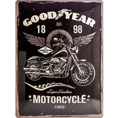 Targa metallica Goodyear