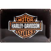 Metal Sign Harley-Davidson Logo
