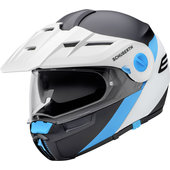 Schuberth E1 Gravity Blue Enduro Helm