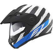 Schuberth E1 Hunter Blue casque enduro