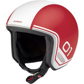 Schuberth O1 Era Red Jethelm