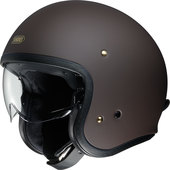 Shoei J.O casque jet matt brown