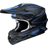 Shoei VFX-W Hectic TC-2 Crosshelm
