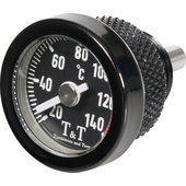 T&T Oil temperature gauge black
