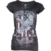 West Coast Choppers Eagle t-shirt femme