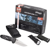 ADVENTURE SET RBL 500+SILVER TAC KNIFE
