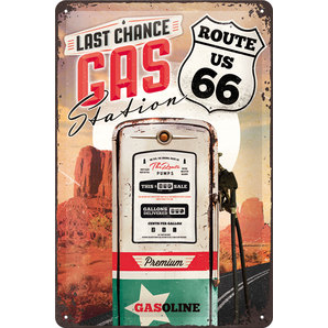 TIN SIGN *ROUTE 66*