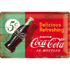 METAL SIGN *COCA COLA*