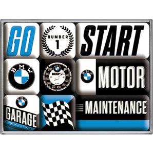 MAGNETSET BMW *MOTOR*