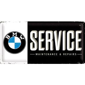 PLAQUE MÉT. *BMW SERVICE