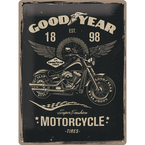 METAL TIN-SIGN GOODYEAR