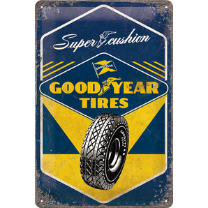 "Metal Sign Goodyear ""Tires"""