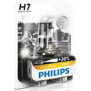buy philips vision moto h7 30 55w halogen lamp louis moto. Black Bedroom Furniture Sets. Home Design Ideas