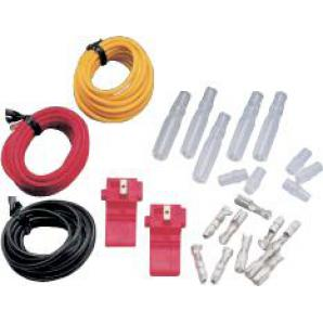 CABLE SET WITH CLAMPS