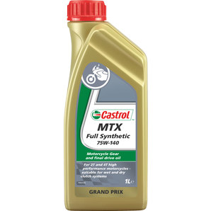 castrol mtx getriebe l vollsynthetisch 75w 140 1 liter kaufen louis motorrad freizeit. Black Bedroom Furniture Sets. Home Design Ideas