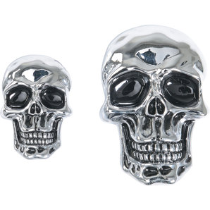 DECORATIVE SKULL BADGE
