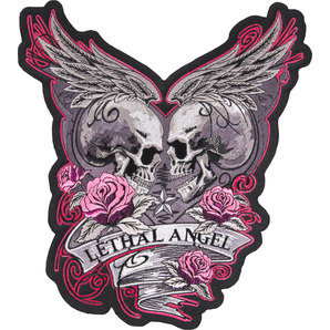 LETHAL ANGEL SEW-ON BADGE