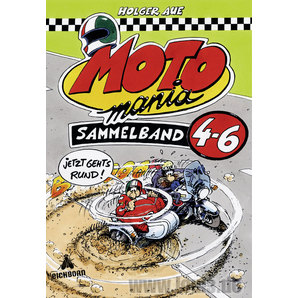 MOTOMANIA COMICS BAND 4-6