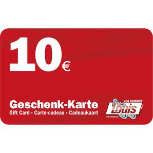 10,- EURO GIFT VOUCHER