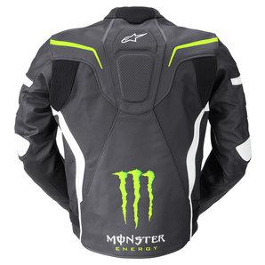 acheter alpinestars monster shadow veste en cuir louis motos et loisirs. Black Bedroom Furniture Sets. Home Design Ideas
