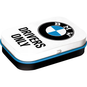 PILL BOX BMW DRIVERS ONLY