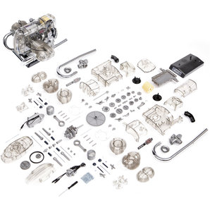 Buy Bmw Flat Twin Engine R 90 S 200 Part Kit Scale 1 2 Louis