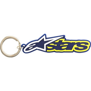 Blaze Keyring Blue/Yellow